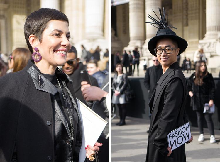 A gauche : Cristina Cordula, conseillère en image